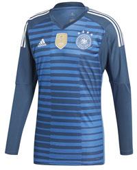 Das neue blaue DFB Trikot für den Torwart 2018.